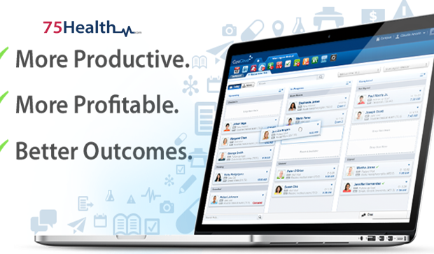Benefits of 75Health EHR platform