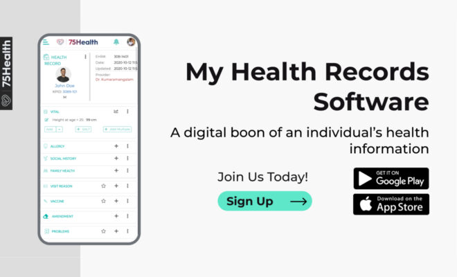 My Health Record can be defined as a digital summary filled with the chronological order of treatments and medicines taken till date