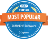 Capterra list 75health among Top 20 EMR Software